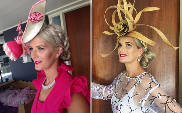 Races Hairstyles With Fascinators Hair Ideas For Race Day